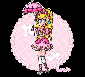 Loli Princess Peach Remake by ninpeachlover