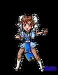 Magical girl Chun Li
