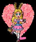 Easter bunny Zelda