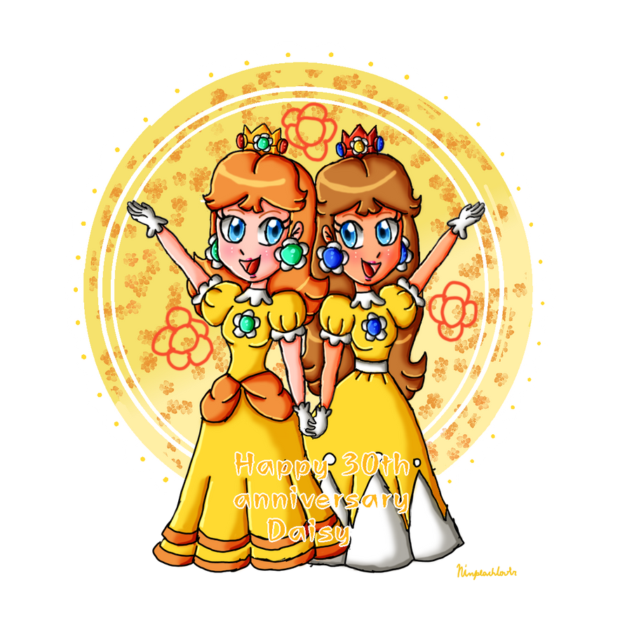 Happy 30th Anniversary Daisy By Ninpeachlover On Deviantart