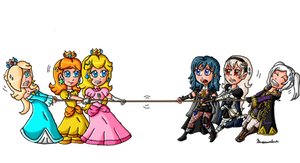 The princesses vs the avatars