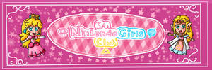 The Nintendo Girls Club Twitter Banner by ninpeachlover