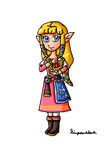 UCL Collab-SS Zelda by ninpeachlover