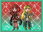 Pyra and Mythra in Smash