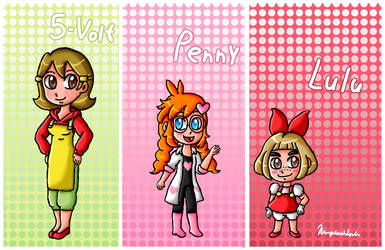 The others WarioWare characters