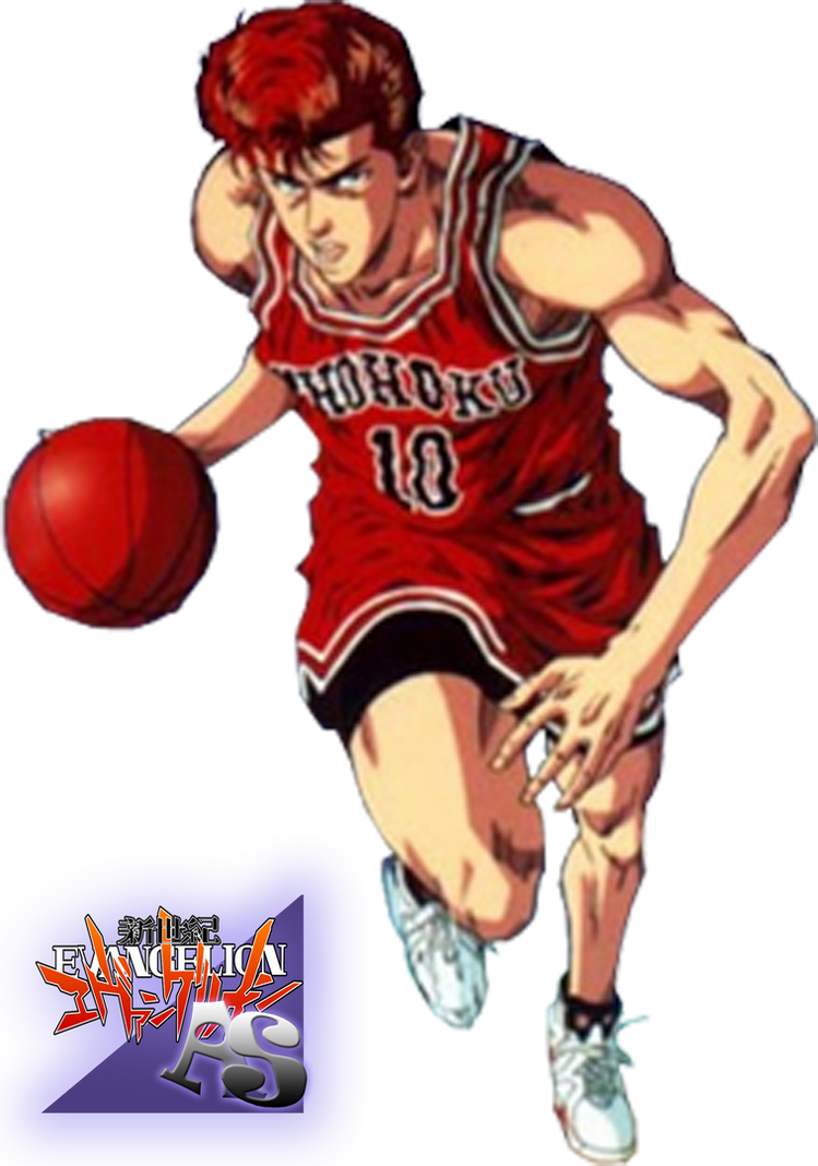 hanamichi sakuragi render by animesennin on deviantart