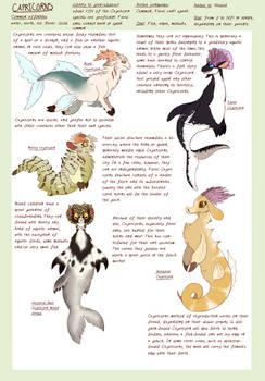 Species: Capricorns