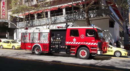 Frozen Fire Truck by RYDEEN-05-2