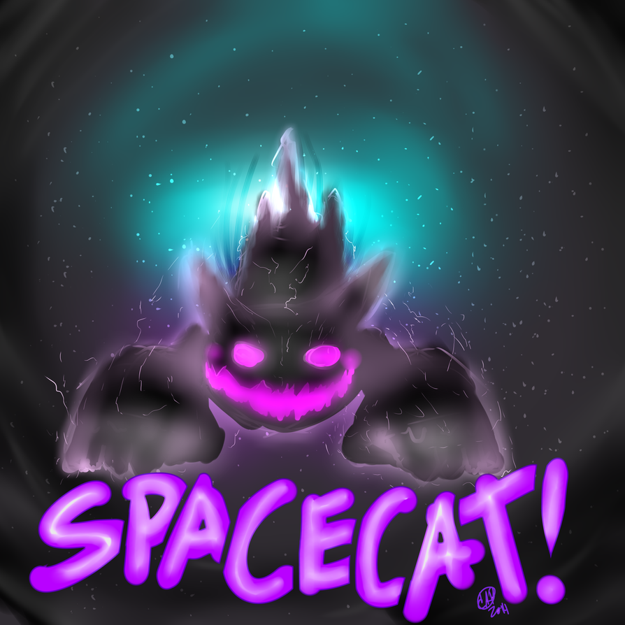 SPACE CAT!!!!! by EmperorSniggle