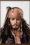 Captain Jack Sparrow by caneker