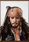 Captain Jack Sparrow by caneker