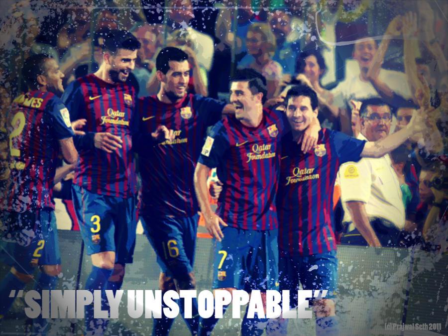 F C Barcelona Edit By Prajwals On Deviantart