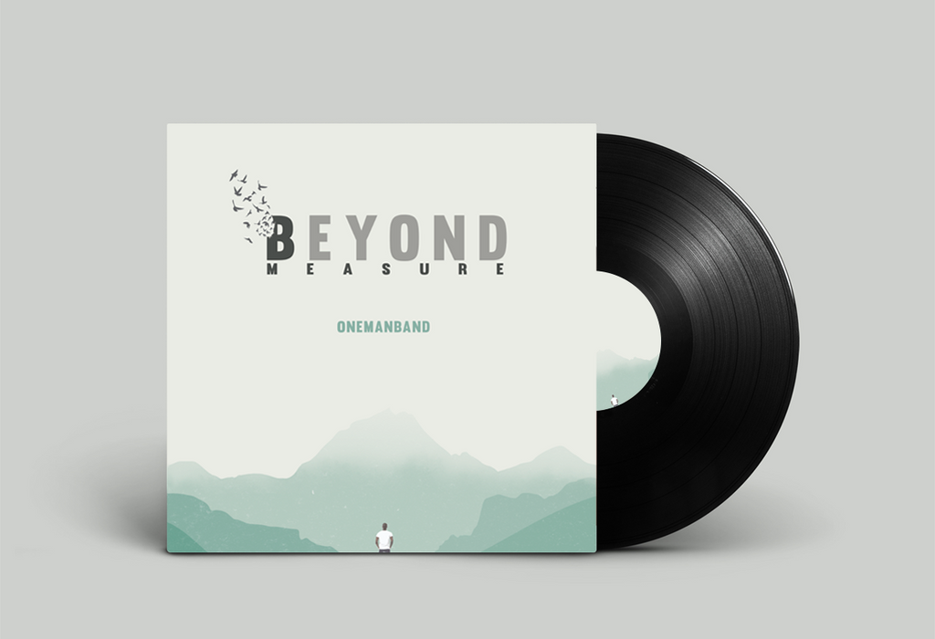 OneManBand. Album Cover Design. by RoundDrop