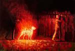 Burning dog 2