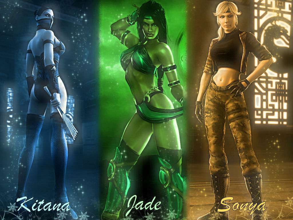 Mortal Kombat Women Wallpaper