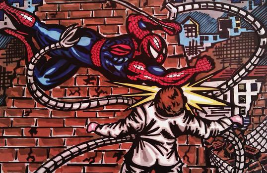 Spider-man vs Dr octavious