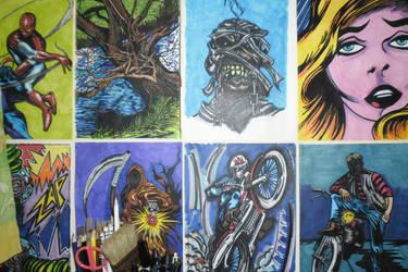 My Art on my Wall by BikerDA