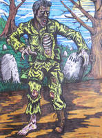 Zombie by BikerDA