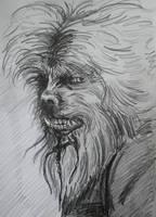 The Wolfman by BikerDA