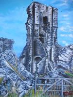 Corfe Castle  by BikerDA