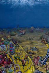 ScubaTropolis by PaintingsByFrancois