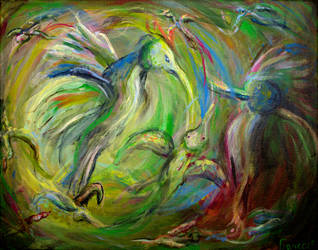 Birds of Free Ferocity by PaintingsByFrancois