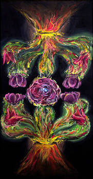 Volcanic Carnation by PaintingsByFrancois