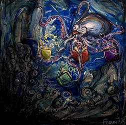 Cephalopod Potential  by PaintingsByFrancois