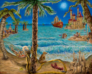 Escape to Paradise by PaintingsByFrancois