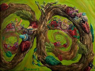 Ladybug Lovin' by PaintingsByFrancois