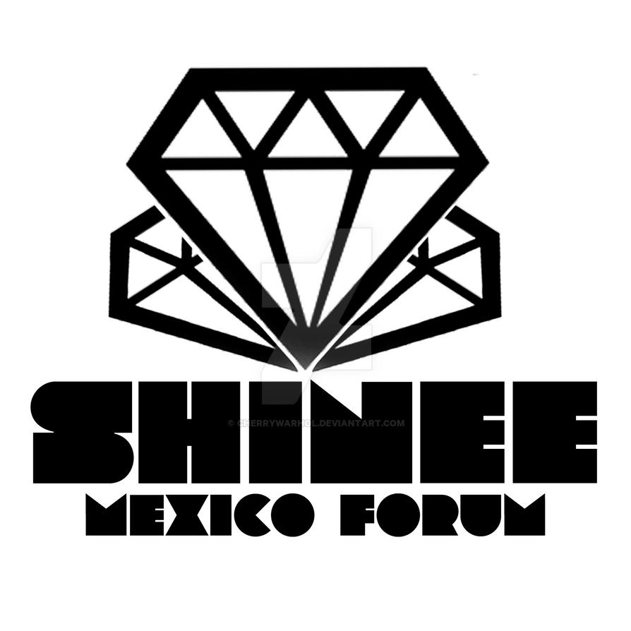 shinee mexico forum logo by cherrywarhol on deviantart