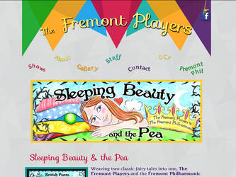 Fremont Players - home page by AEtherPie