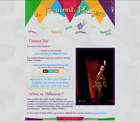 Fremont Players - contact page by AEtherPie