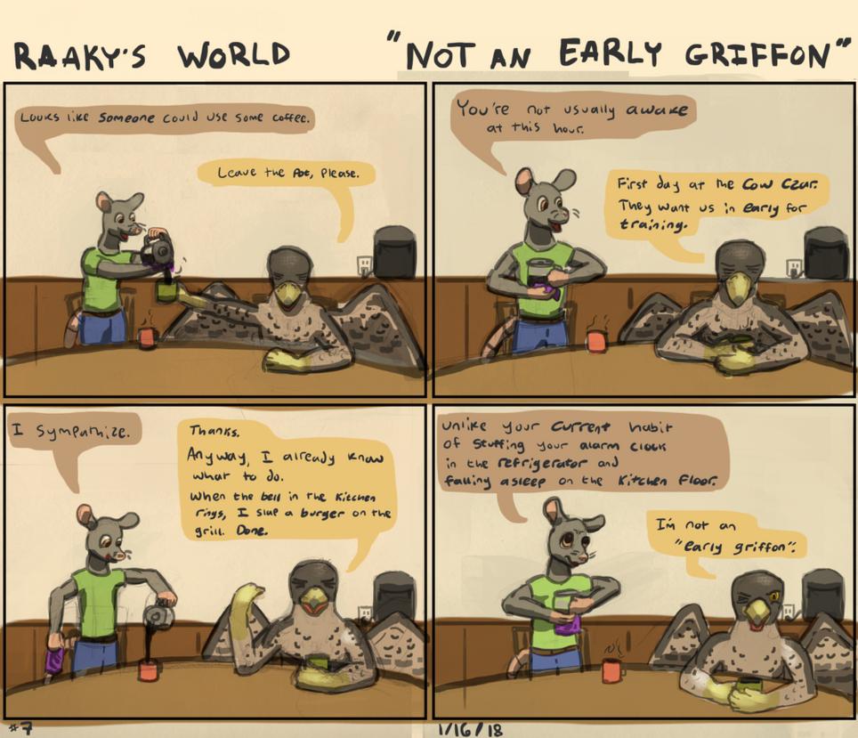 Not an Early Griffon - Raaky's World 7 by raaky-draws