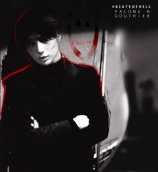 (RED) Taemin by PalomaGouthier