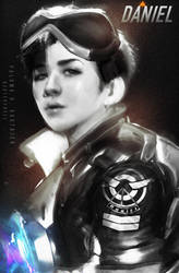 Daniel Overwatch by PalomaGouthier