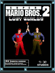 Super Mario Bros 2 Lost Worlds by AnimeCitizen