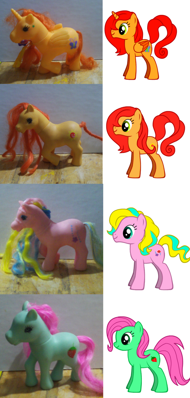 my little pony characters cutie marks