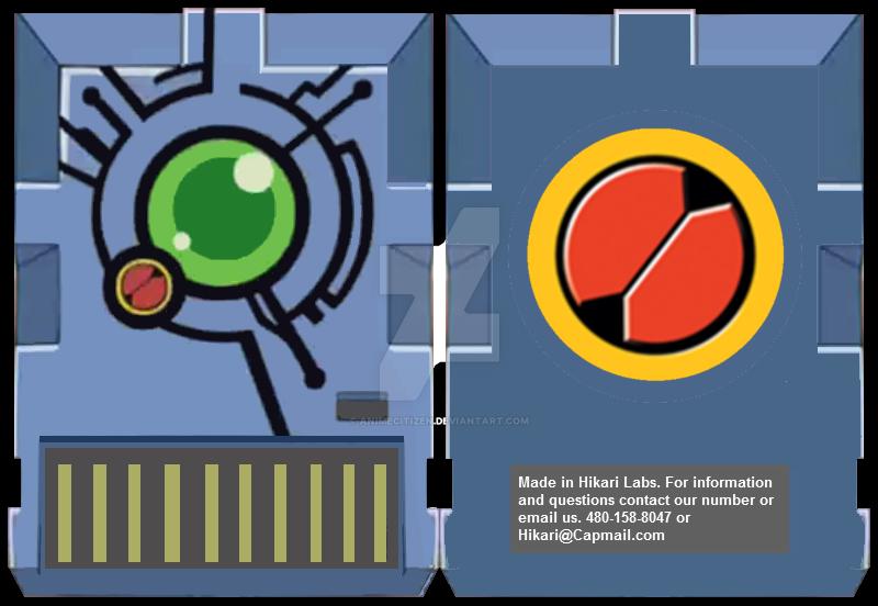 MegaMan NT Warrior Axess Synchro Chip by AnimeCitizen