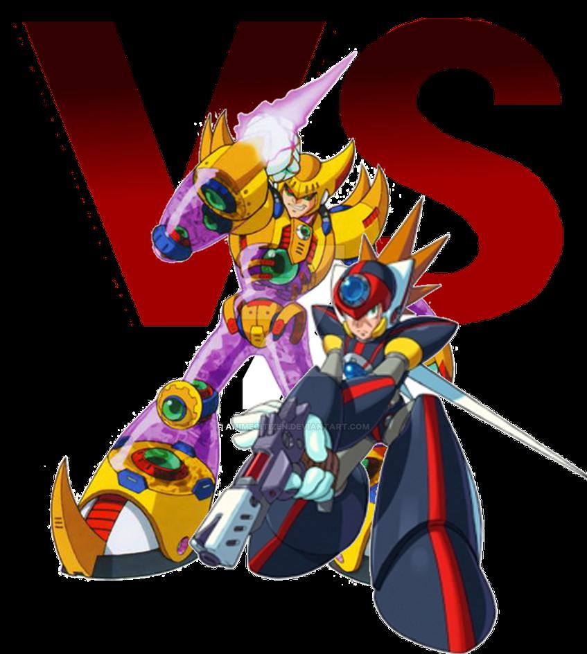 MegaMan ChronoVerse - Axl VS Double by AnimeCitizen