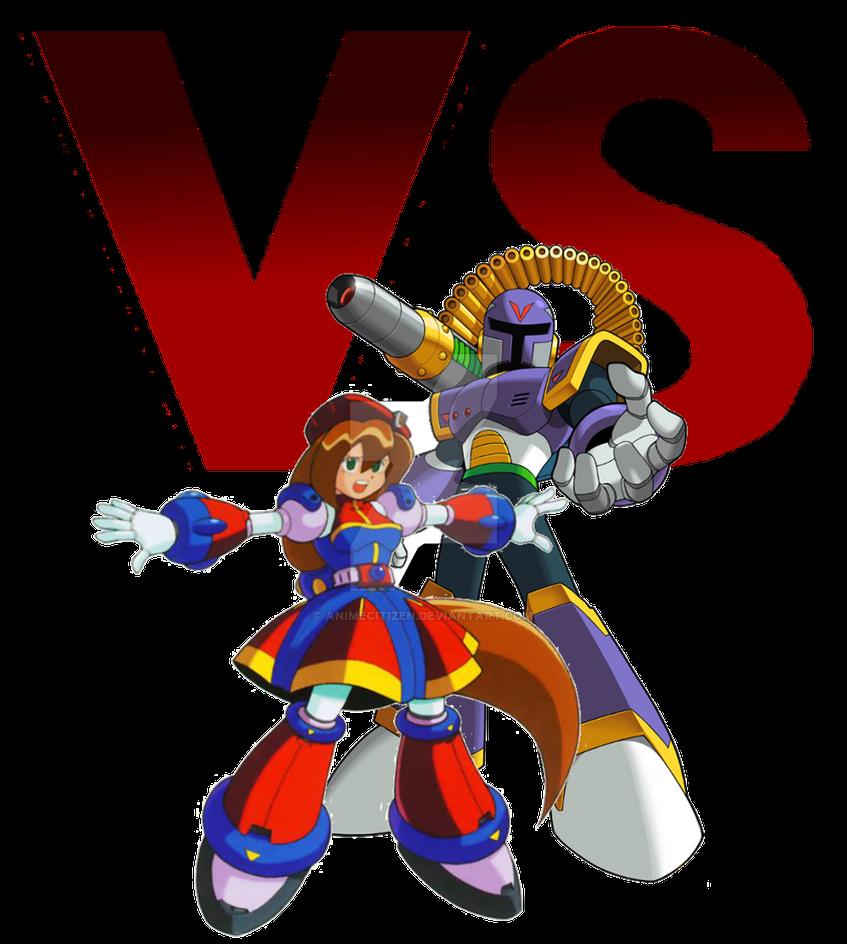 MegaMan ChronoVerse - Iris VS Vile by AnimeCitizen