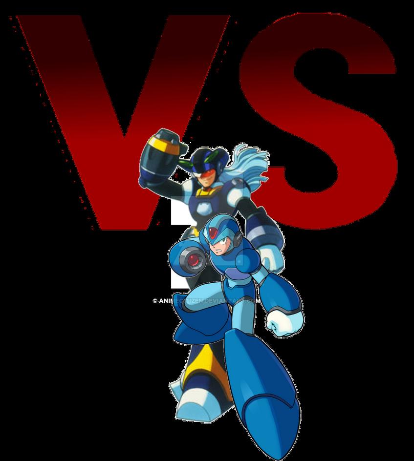 MegaMan ChronoVerse - X VS Dynamo by AnimeCitizen
