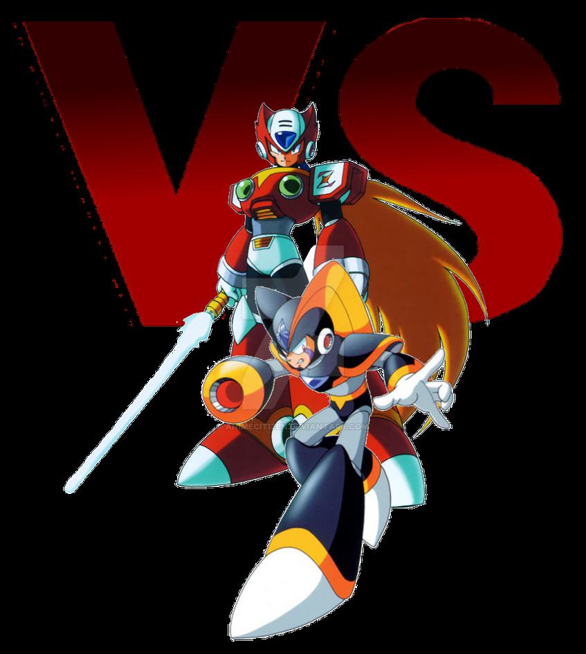 MegaMan ChronoVerse - Zero VS Bass by AnimeCitizen