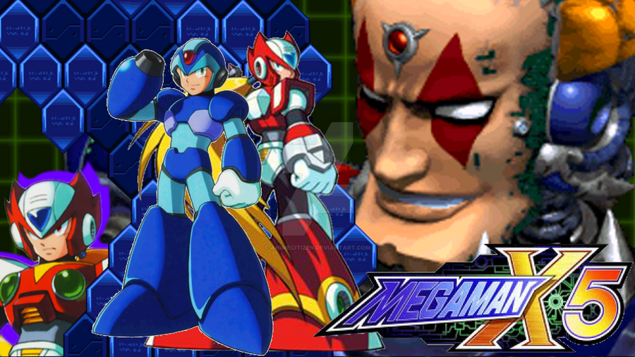 MegaMan X5 Wallpaper by AnimeCitizen