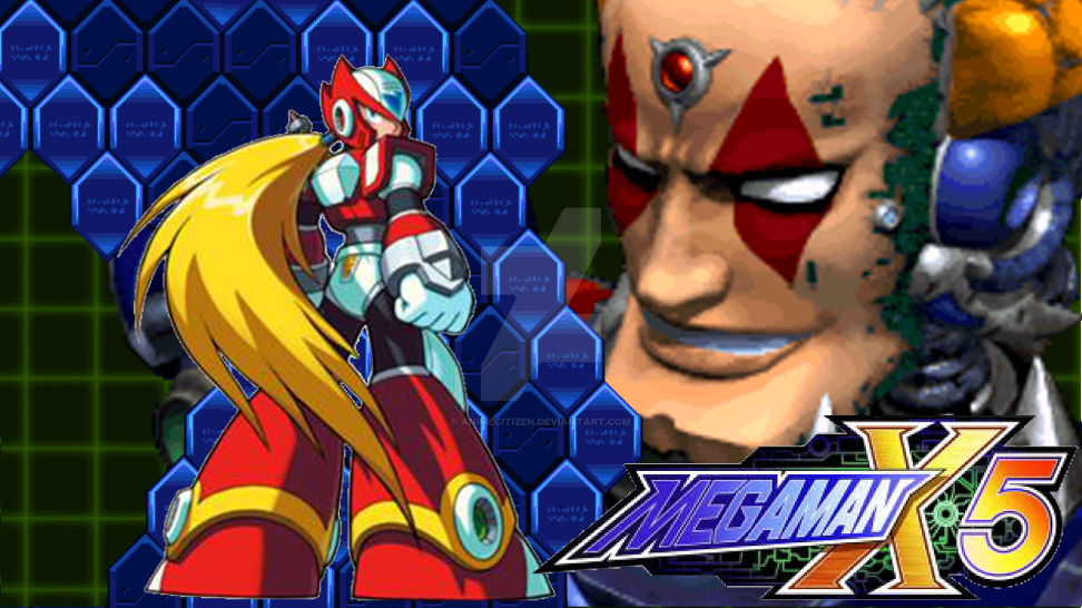 MegaMan X5 Wallpaper Zero by AnimeCitizen