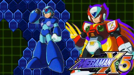 MegaMan X5 Wallpaper X