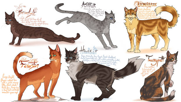 some warrior cats designs #3