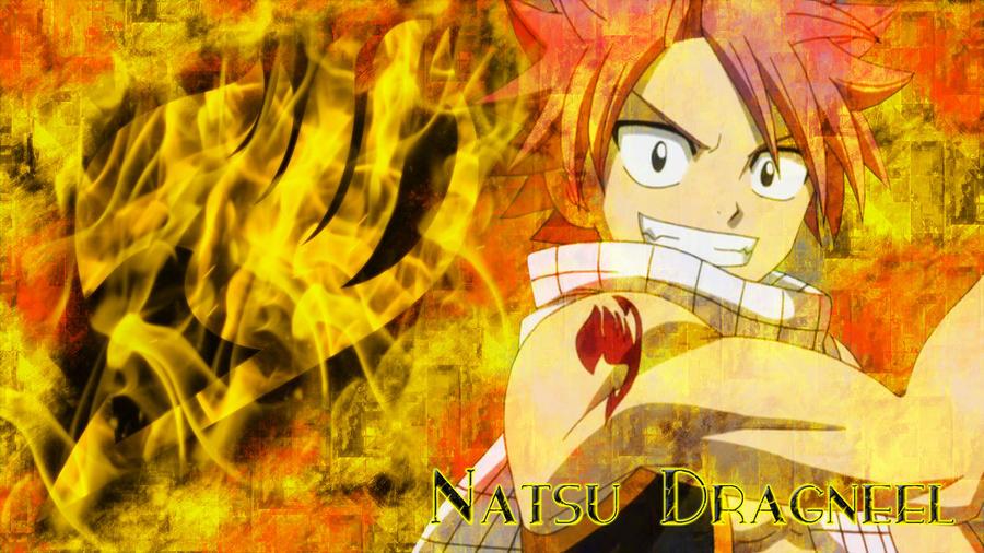 Fairy Tail: Natsu Dragneel - Wallpaper