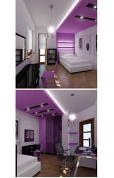 room for female-teenager by SamorizMisha