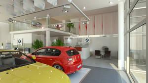 AutoSalon BMW_2_with cars